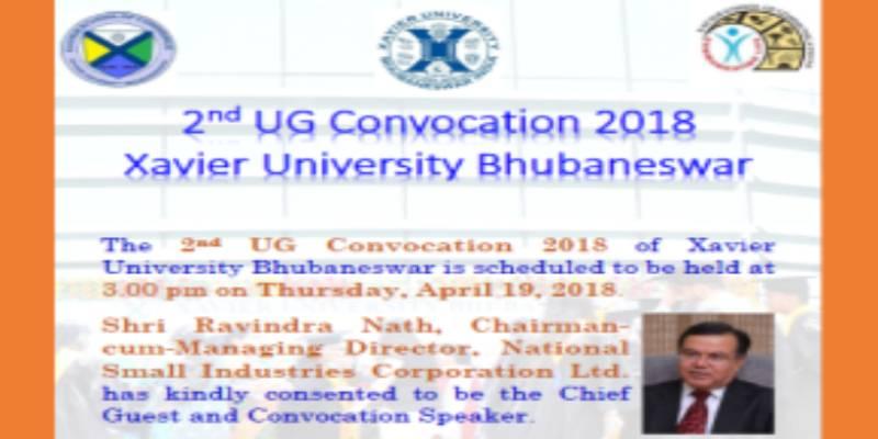 2nd UG Convocation 2018